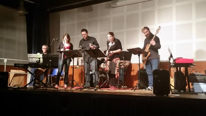 Concert des profs de l'école de Musique du FJEP de Montgiscard