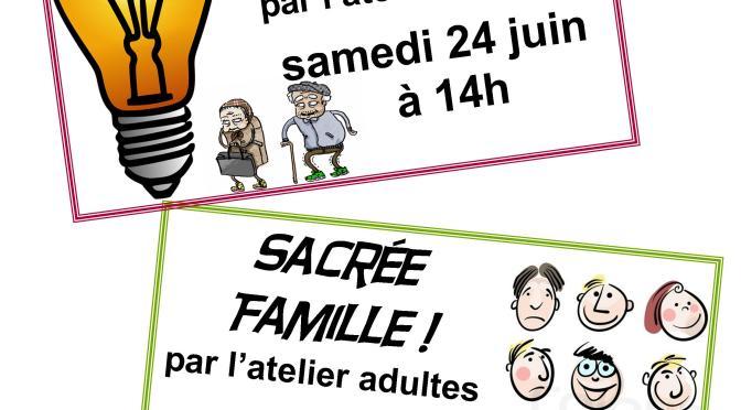 24 juin 2017: Théâtre pour tous
