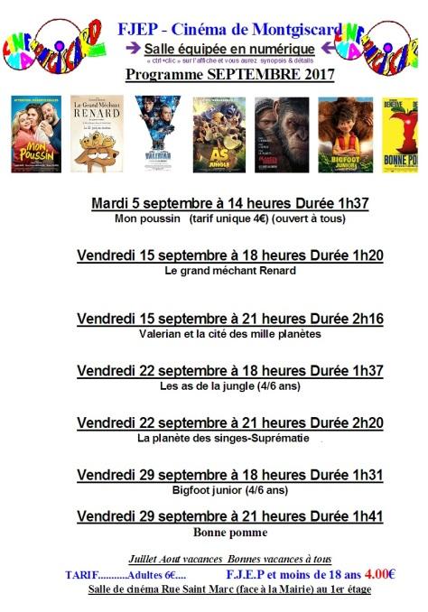 cine sept 2017