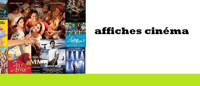 Des affiches cinéma à vendre