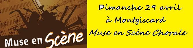 Chorale d'un jour avec Muse en scène
