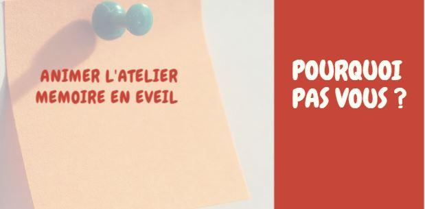 Animer l'Atelier Mémoire En Eveil